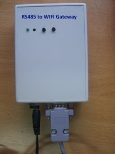 RS-485 to Wifi gateway